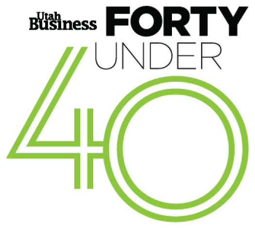 Utah Business Forty Under 40 logo